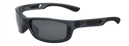 Lynx Crystal Black / True Color Grey Reflection Silver Polarized picture