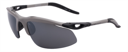 H-Wall Extreme Matte Silver / True Color Grey Reflection Silver Polarized picture