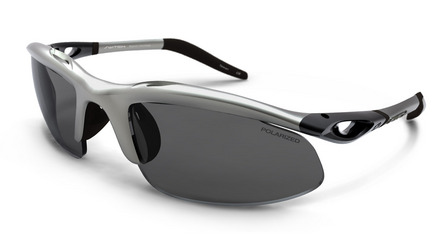 H-Wall Sweptback Matte Silver / True Color Grey Reflection Silver Polarized picture