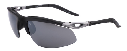 H-Wall Extreme Matte Black / True Color Grey Reflection Silver Polarized