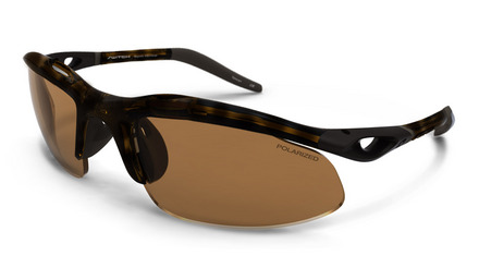 H-Wall Sweptback Dark Tortoise / Contrast Amber Reflection Bronze Polarized picture