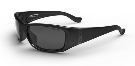 Boreal Matte Black / True Color Grey Reflection Silver Polarized