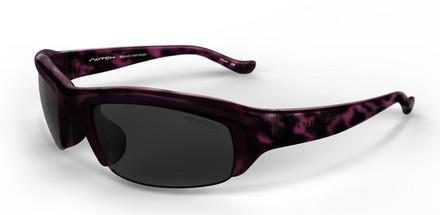 Stoke Demi Purple / True Color Grey Reflection Silver Polarized picture