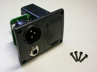 "5AJB05F - Battery Box/Jack Combo Box  9V (XLR & 1/4"") picture"