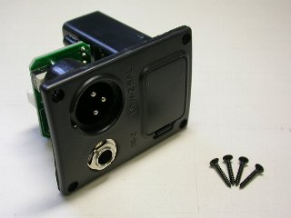 "5AJB05F - Battery Box/Jack Combo Box  9V (XLR & 1/4"") picture"