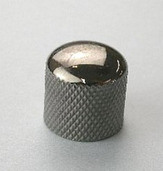 4KB1C11K - Metal Dome Knob, Snap Type (Cosmo Black)