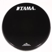 "BK26BMTT- 26"" Starclassic Series Black Head with White TAMA and Starclassic Logo"
