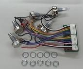 3EQ1MC0006 - Bass EQ- EQB3S W/ Mid-Frequency Swtch