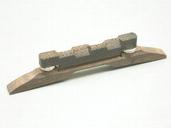 5ABR01N - Mandolin Bridge (Chrome Hardware)