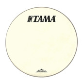 "CT22BMOT- 22"" Starclassic Vintage White Coated Head with Black TAMA and Starclassic Logo"
