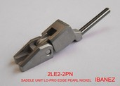2LE22PN- Lo-Pro Edge Saddle Unit- Pearl Nickel