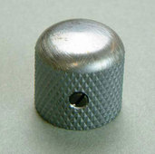 4KB1J1VS- Metal Dome Knob- Vintage Silver