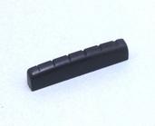 4NT12A0001 - Electric Guitar Nut-  5x43MM (Black Plastic)