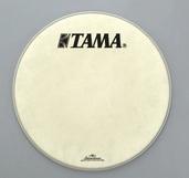 "FB22BMFS- 22"" Vintage White Fiber Laminated Head with TAMA and Starclassic Logo"
