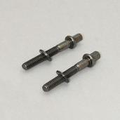 MS642SHPBN- Tension Bolt 42mm (2pc) Black Nickel w/ Metal Washer