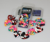 Confetti (Extra Heavy- 1.2mm) Celluloid Pack, 12 Picks