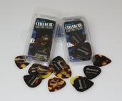 Tortoiseshell (Heavy- 1.0mm) Celluloid Pack, 12 Picks