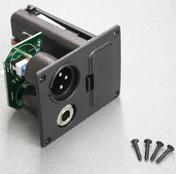 """5AJB01F - Battery Box/Jack Combo Box  2 'AA' (XLR & 1/4"""")"""
