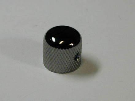 4KB1J1B- Metal Dome Knob- Black picture