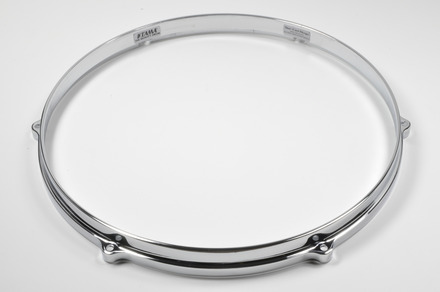 """MDH146- 14"""" 6 Hole Die-Cast Hoop (Bottom Side, Chrome) picture"""