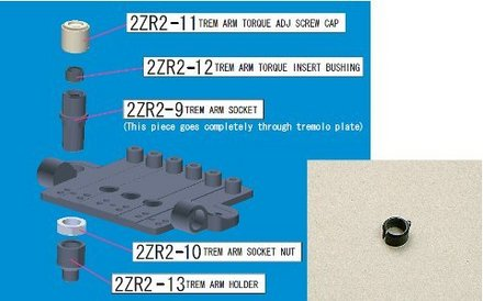 2ZR212 - Trem Arm Torque Adjustment Bushing- ZR picture