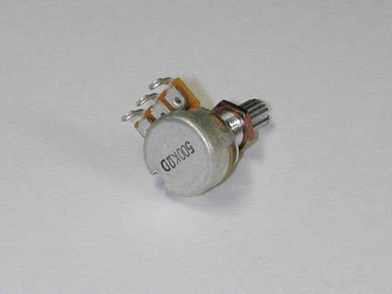 3VR1J500D- Potentiometer- 16mm 500K-D picture