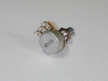 3VR1J500D- Potentiometer- 16mm 500K-D picture