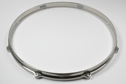 "MDH138H- 13"" 8 Hole Die-Cast Hoop (Bottom Side, Brushed Nickel) picture"