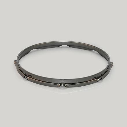 """MFH128BN- 12"""" 8 Hole Steel Triple Flanged Hoop (Black Nickel) picture"""