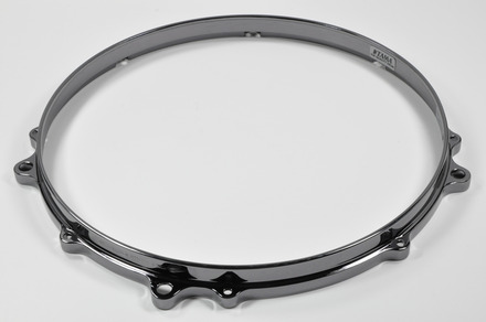 "MDH148FBN- 14"" 8 Hole Die-Cast Hoop (Top Side, Black Nickel) picture"
