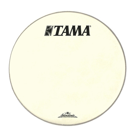 """CT24BMOT- 24"""" Starclassic Vintage White Coated Head with Black TAMA and Starclassic Logo picture"""