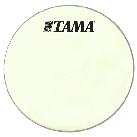 """CT18BMSV- 18"""" Silverstar Vintage White Coated Head with Black TAMA Logo picture"""