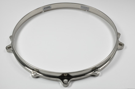 "MDH136FH- 13"" 6 Hole Die-Cast Hoop (Top Side, Brushed Nickel) picture"