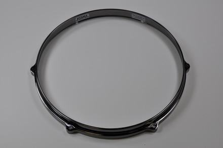 """MDH146BN- 14"""" 6 Hole Die-Cast Hoop (Bottom Side, Black Nickel) picture"""
