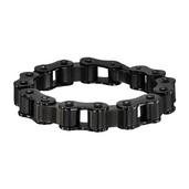 Black PVD Motor Chain Bracelet