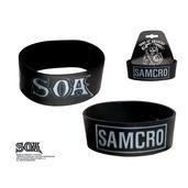 SAMCRO with SOA Logo Silicone Bracelet