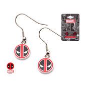 Stainless Steel Deadpool Dangle Earrings