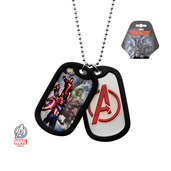 Avengers Logo Double Dog Tag