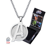 Avengers Logo Pendant with Chain