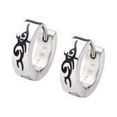 Women's Tribal DesignHuggies Earrings
