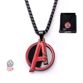 Marvel Red Avengers Pendant with Chain