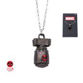 Marvel Base Metal Deadpool Bomb Pendant Chain