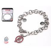 "Avengers ""A"" Logo Casted Charm Bracelet"