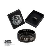 """IP Black """"SAMCRO"""" Ring"""