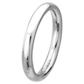Plain Polished 3mm Wide Cobalt Chrome Ring