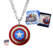 Captain America Logo Kids Pendant with Chain