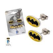 Batman Logo Stud Earrings