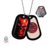Hydra Graphic Logo Double Dog Tag