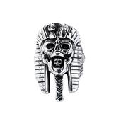 Pharaoh Skull Head Ring