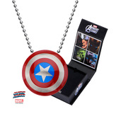 Captain America Logo Pendant with Chain